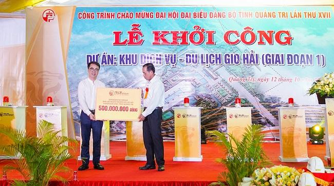 T&T Group khởi công Khu dịch vụ - du lịch gần 4.500 tỷ tại Quảng Trị 3