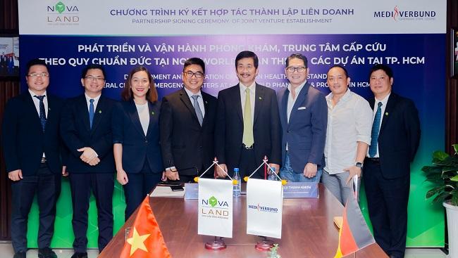Novaland và MediVerbund AG thành lập liên doanh phát triển chuỗi phòng khám