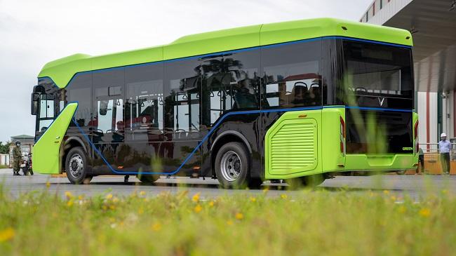 VinFast chạy thử nghiệm mẫu xe buýt điện đầu tiên 1