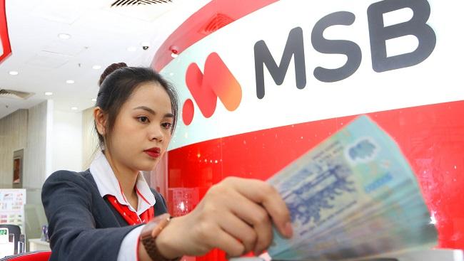 MSB lãi 1.660 tỷ đồng sau 9 tháng, vượt kế hoạch năm