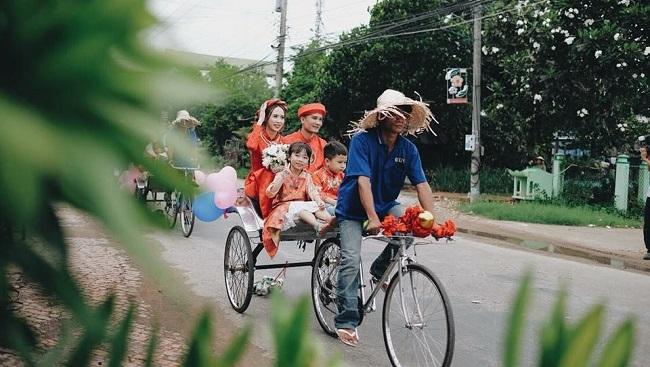 Xe lôi Châu Đốc, An Giang tạo điểm nhấn ấn tượng cho du khách 5