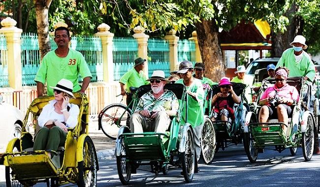 Xe lôi Châu Đốc, An Giang tạo điểm nhấn ấn tượng cho du khách 2