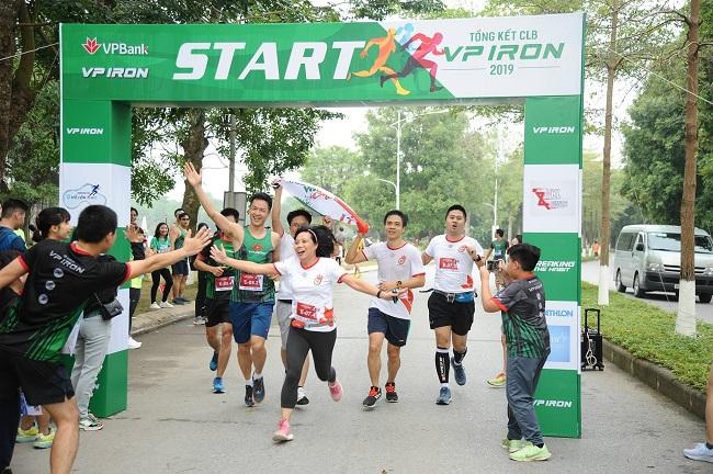VPBank xây dựng văn hóa doanh nghiệp qua giải chạy marathon