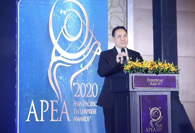 Nam A Bank nhận giải Doanh nghiệp xuất sắc châu Á và tăng trưởng nhanh 1