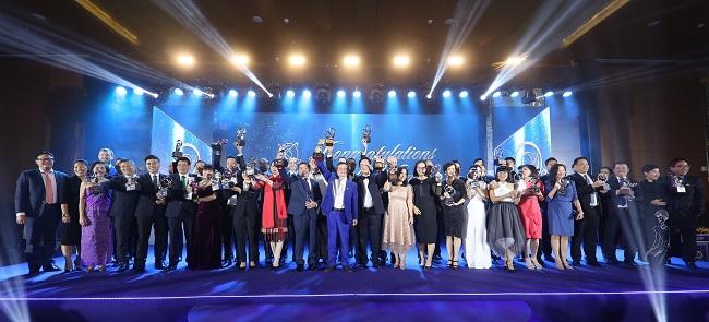 Nam A Bank nhận giải Doanh nghiệp xuất sắc châu Á và tăng trưởng nhanh
