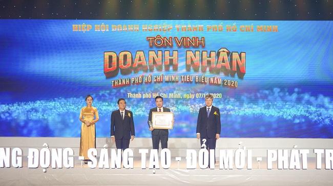 Hưng Thịnh thắng lớn loạt giải doanh nghiệp, doanh nhân TP.HCM tiêu biểu năm 2020 1