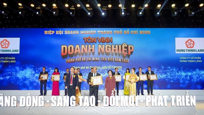 Hưng Thịnh thắng lớn loạt giải doanh nghiệp, doanh nhân TP.HCM tiêu biểu năm 2020 2