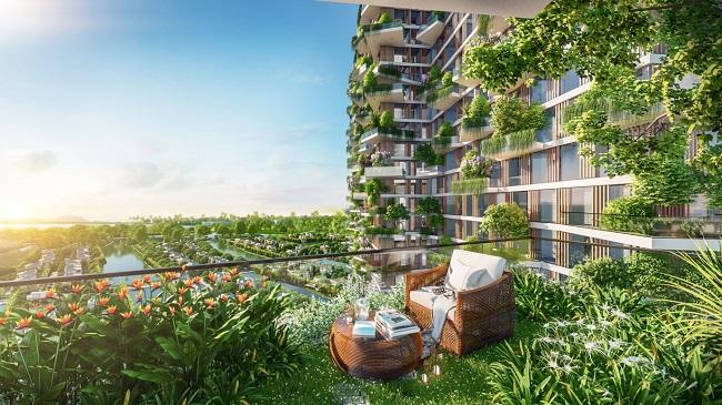 Dự án căn hộ có 400 khu vườn trên cao tại Ecopark 2