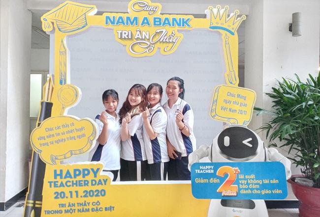 Nam A Bank tri ân thầy cô nhân ngày Nhà giáo Việt Nam 20/11 1