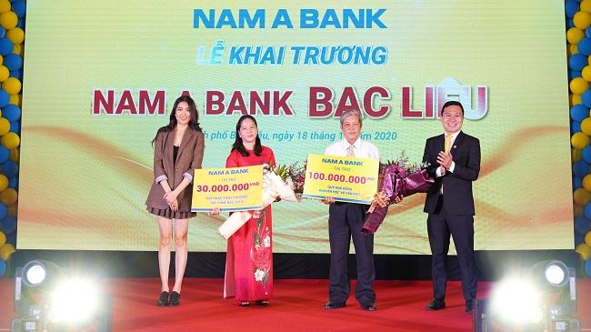 Nam A Bank khai trương chi nhánh Bạc Liêu 1