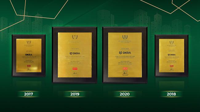DKRA Vietnam là nhà phân phối bất động sản tiêu biểu bốn năm liên tiếp