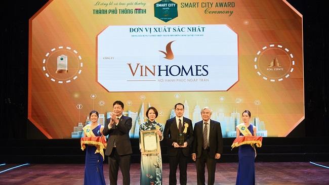 Vinhomes Ocean Park đạt giải danh giá nhất của 'Thành phố thông minh 2020'