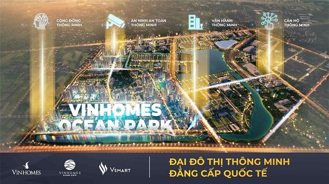 Vinhomes Ocean Park đạt giải danh giá nhất của 'Thành phố thông minh 2020' 1