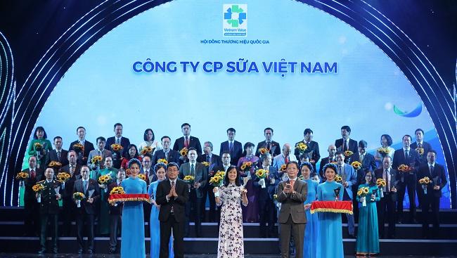 Vinamilk nhận giải Thương hiệu quốc gia lần thứ 6 liên tiếp