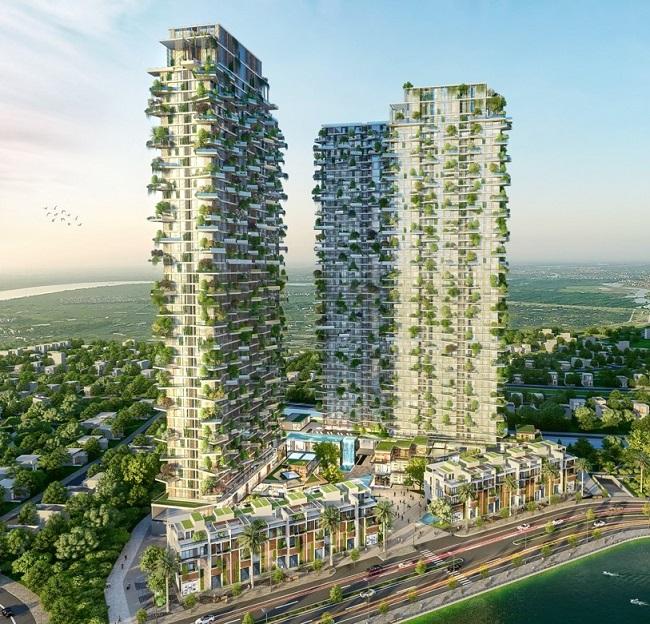 Tác giả của những tòa tháp nổi tiếng nhất thế giới thiết kế tháp biểu tượng Ecopark