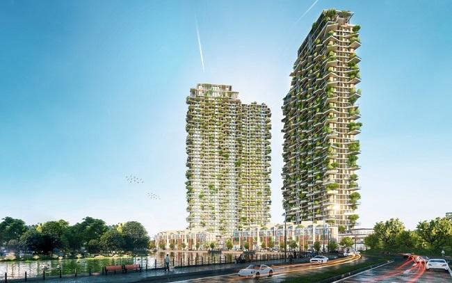 Tác giả của những tòa tháp nổi tiếng nhất thế giới thiết kế tháp biểu tượng Ecopark 1