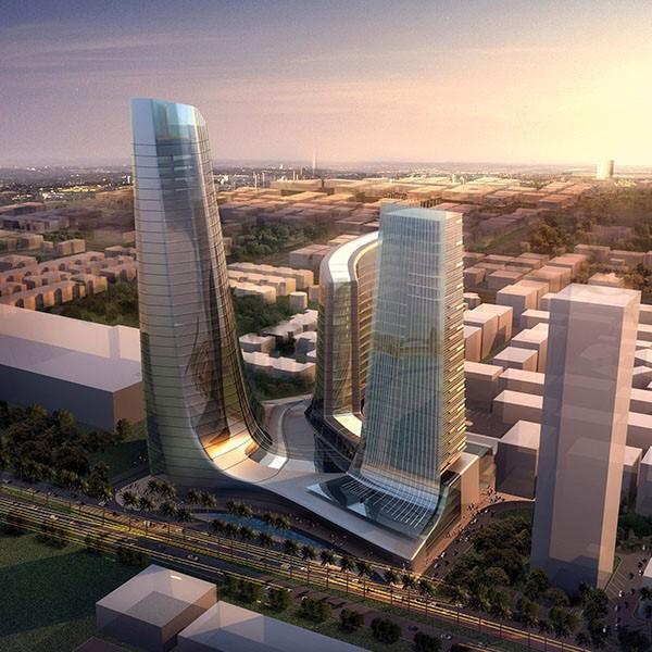 Tác giả của những tòa tháp nổi tiếng nhất thế giới thiết kế tháp biểu tượng Ecopark 2