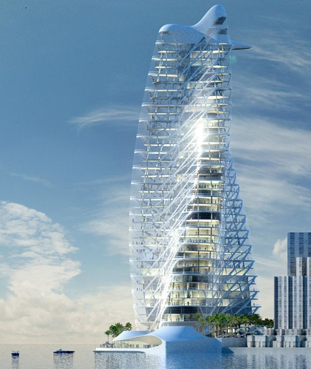 Tác giả của những tòa tháp nổi tiếng nhất thế giới thiết kế tháp biểu tượng Ecopark 4