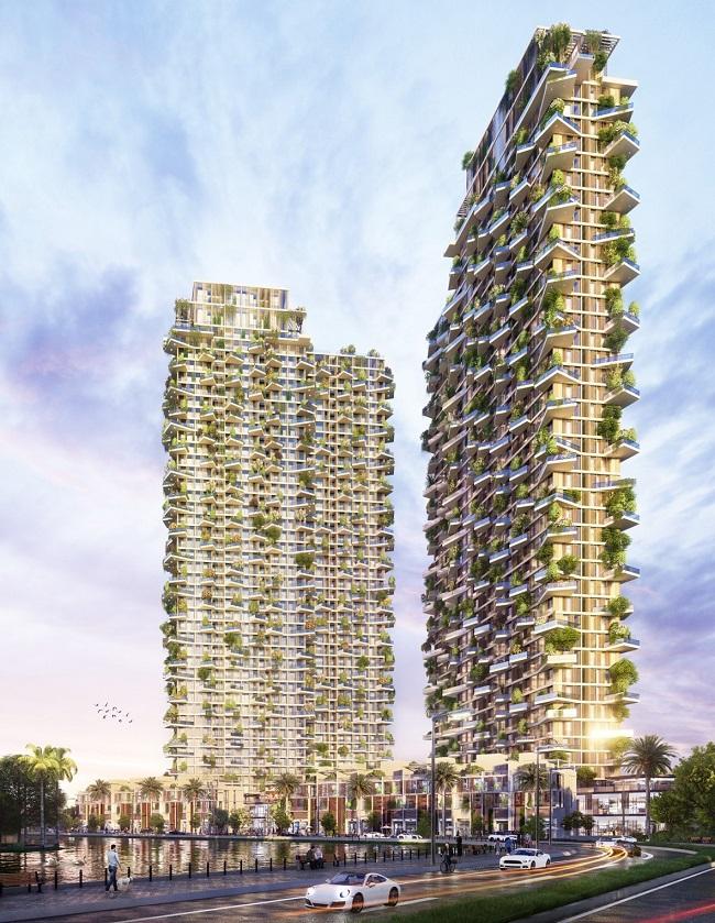 Tác giả của những tòa tháp nổi tiếng nhất thế giới thiết kế tháp biểu tượng Ecopark 6