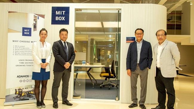 AA Corporation ra mắt Adamos - Thương hiệu nội thất văn phòng và Mitbox