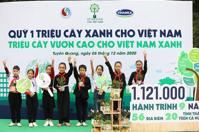 Vinamilk hoàn thành mục tiêu trồng hơn 1,1 triệu cây xanh cho Việt Nam 7