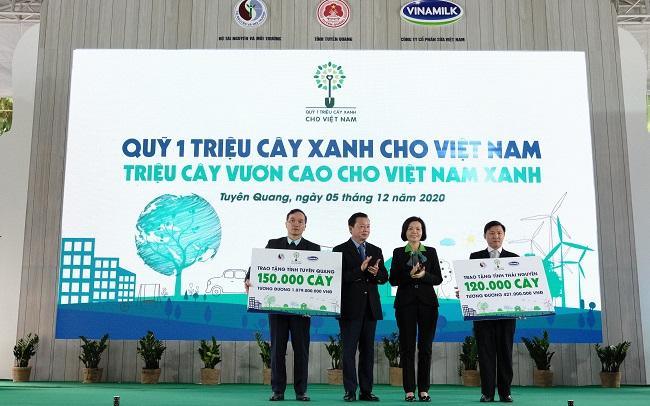 Vinamilk hoàn thành mục tiêu trồng hơn 1,1 triệu cây xanh cho Việt Nam 1