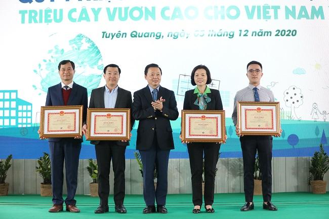 Vinamilk hoàn thành mục tiêu trồng hơn 1,1 triệu cây xanh cho Việt Nam 3