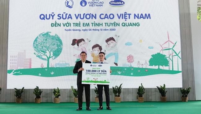 Vinamilk hoàn thành mục tiêu trồng hơn 1,1 triệu cây xanh cho Việt Nam 4