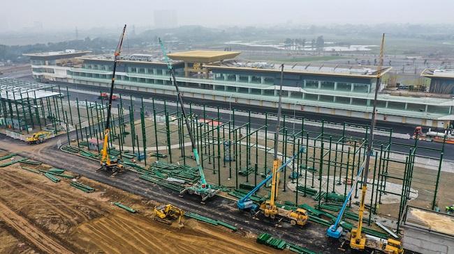 Đường đua F1 Hà Nội tăng tốc vào giai đoạn hoàn thiện 3