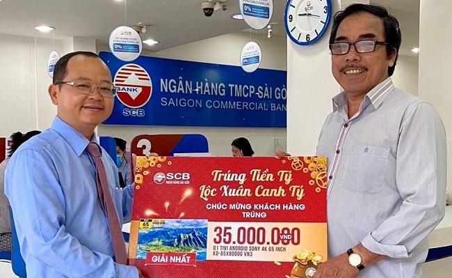 SCB quay số đợt 3 và 4 chương trình 'Trúng tiền tỷ - Lộc xuân Canh Tý'