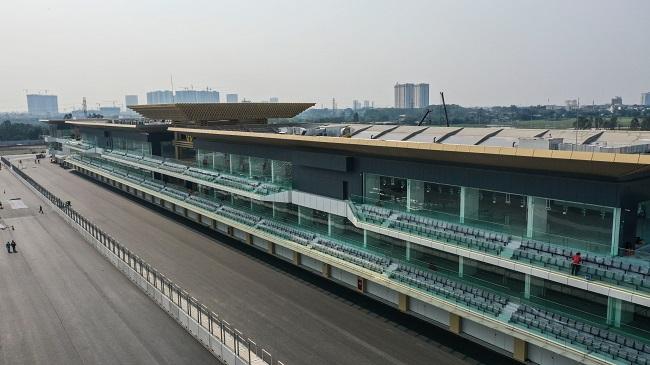 Đường đua F1 Hà Nội đã hoàn thành sau 11 tháng thi công