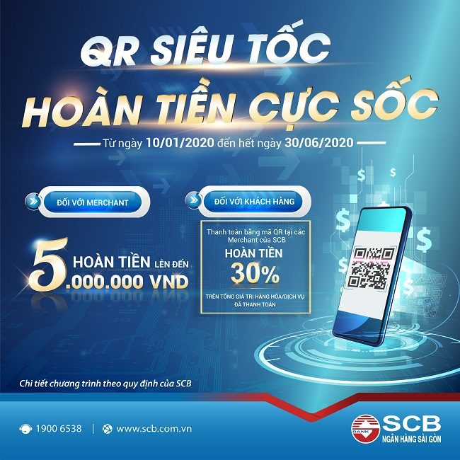 SCB triển khai nhiều chương trình ưu đãi dành cho khách hàng tổ chứcc