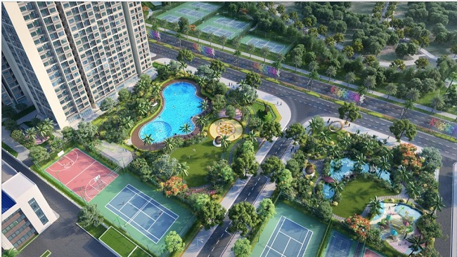 Ra mắt Sapphire Parkville - 'Tâm điểm xanh' của Vinhomes Smart City 3