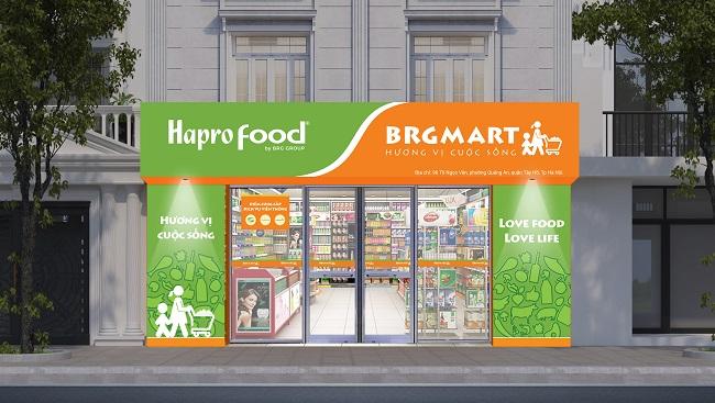 BRG mở thêm 10 cửa hàng Hapro Food tại Hà Nội