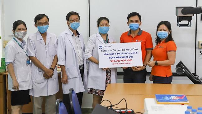 Tập đoàn Hưng Thịnh và Gỗ An Cường chung tay chống dịch Covid-19 1