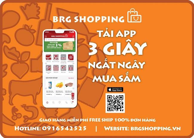 BRG mở thêm 9 cửa hàng bán lẻ Hapro Food và ra mắt ứng dụng BRG Shopping 4