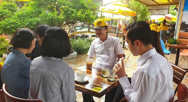 Chuỗi cà phê Ông Bầu mở quán lớn nhất tại Bình Dương 1