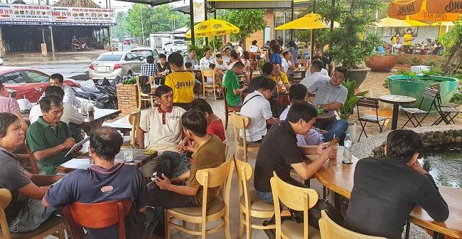 Chuỗi cà phê Ông Bầu mở quán lớn nhất tại Bình Dương 4