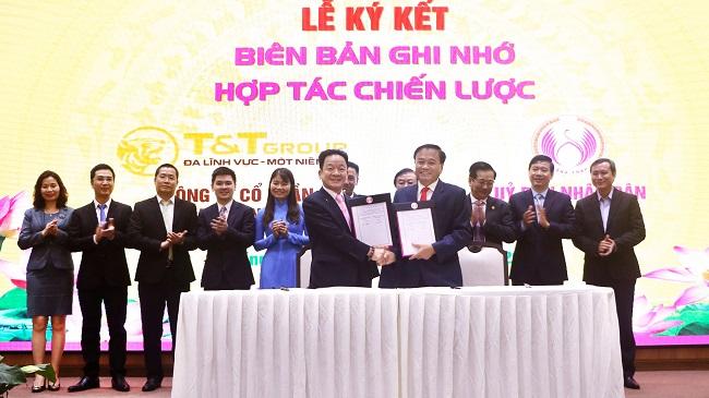 T&T Group hợp tác chiến lược toàn diện với tỉnh Đồng Tháp
