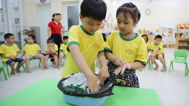 Hơn 1 triệu trẻ được thụ hưởng Sữa học đường trên toàn địa bàn TP. Hà Nội 6
