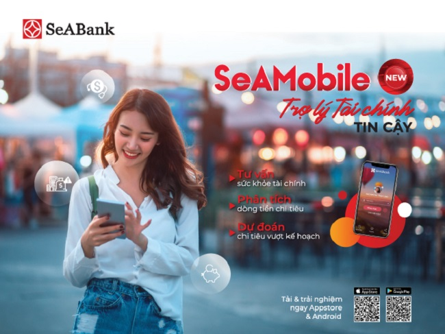 SeABank tự hào với ứng dụng ngân hàng số 'SeAMobile New - Trơ lý tài chính tin cậy'