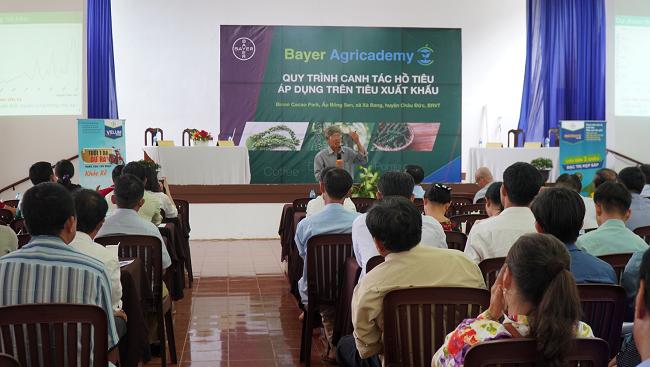 Bayer giúp nông dân Việt Nam sản xuất hồ tiêu đạt chất lượng xuất khẩu 2