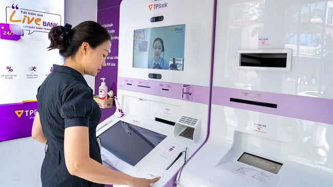 Thêm tính năng nhận diện khuôn mặt tại ngân hàng tự động duy nhất tại Việt Nam