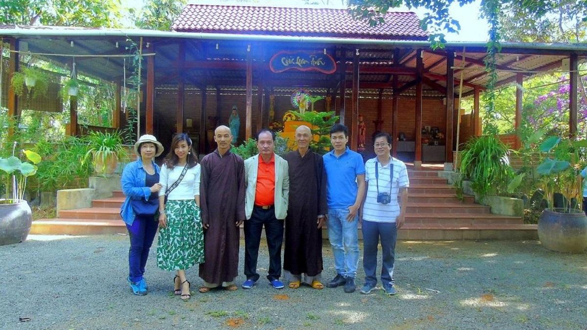 Nhật ký hành trình hậu dịch Covid 19: Hồ Hàm Thuận và chùa Thiên Mai 4