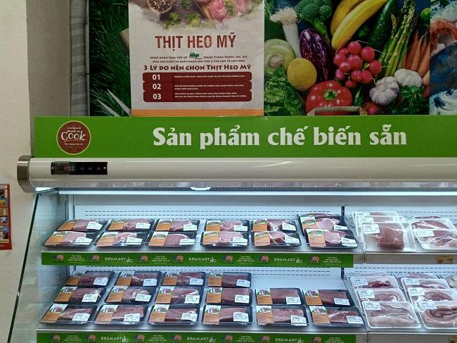 BRG Retail trực tiếp nhập khẩu và triển khai 'Tuần lễ thịt heo Mỹ' 3