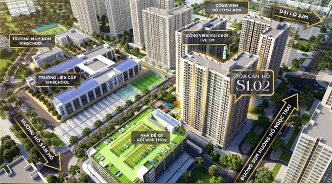 Vinhomes mở bán tòa căn hộ S1.02 của dự án Vinhomes Ocean Park 2