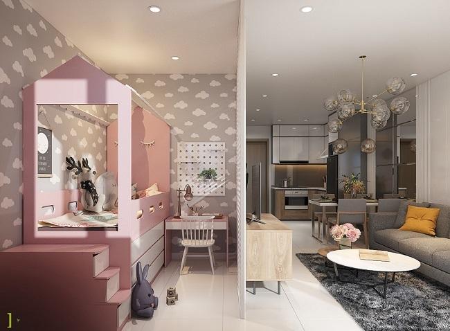 Không gian sống tiện nghi trong dự án căn hộ đầu tiên tại Phú Mỹ 8