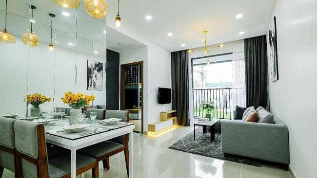 Không gian sống tiện nghi trong dự án căn hộ đầu tiên tại Phú Mỹ