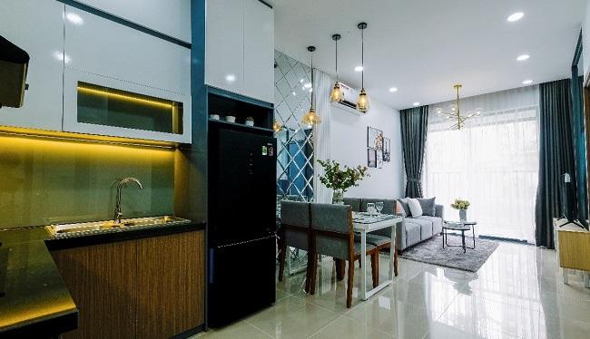 Không gian sống tiện nghi trong dự án căn hộ đầu tiên tại Phú Mỹ 2