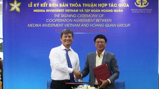 Hoàng Quân Group phát triển hệ thống bệnh viện quốc tế cùng Medika Investment Việt Nam